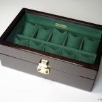 高級時計ケース オーク材10本用 ¥50500