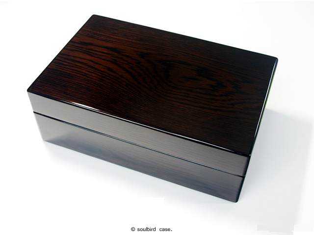 R51EX 10本用 オーク 時計ケース
