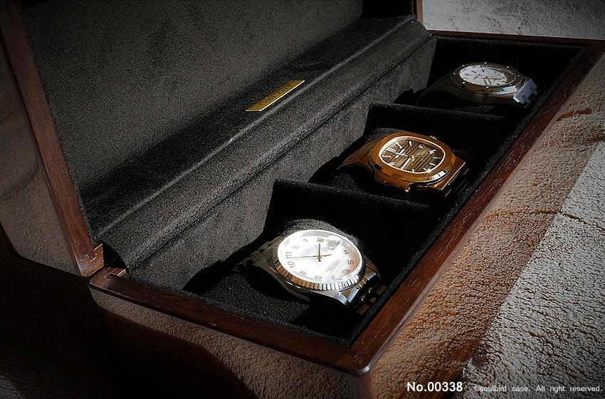 高級時計ケース 3本仕様