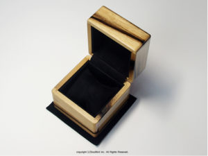 黒柿材 1本用時計ケース