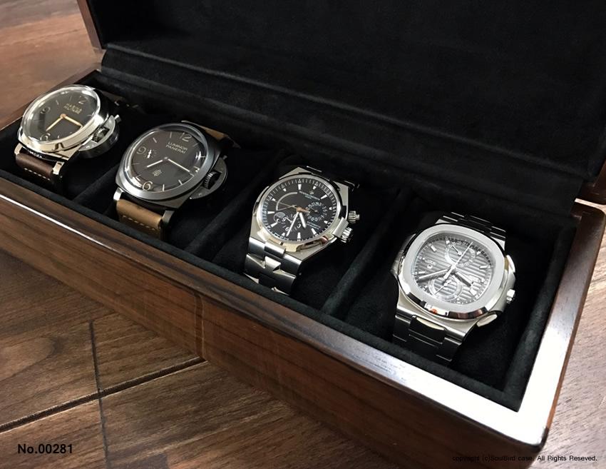 高級時計ケース 4本用