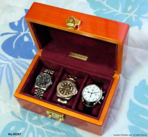 高級時計ケース 3本用