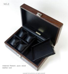 高級時計ケース内装加工 No.2 内装加工代¥8300