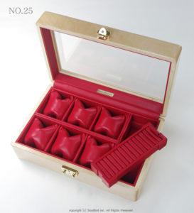 高級時計ケース内装加工 No.25 内装加工代 ¥12100