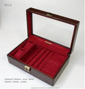 高級時計ケース内装加工 No.3 内装加工代¥8300