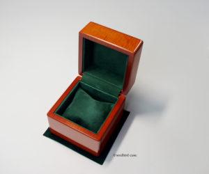 時計ケース メイプル材 シープスエードレザー