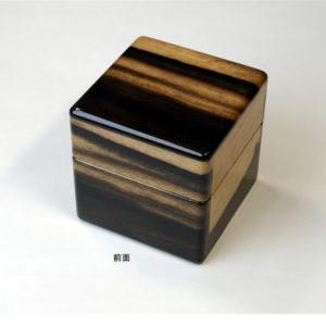 No.0122 1本用 黒柿時計ケース ¥48000