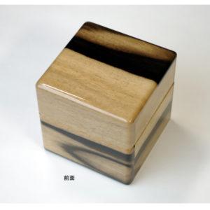No.0123 1本用 黒柿時計ケース ¥48000