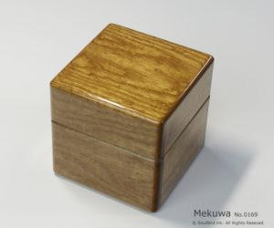 No.0169 1本用 女桑(めくわ)時計ケース ¥26000