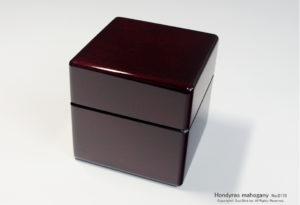 No.0175 1本用 ホンジュラス産マホガニー時計ケース ¥45000