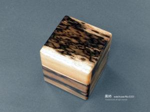 No.0203 1本用 黒柿時計ケース ¥95000
