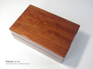 No.1387 10本用 ブビンガ時計ケース ¥109000
