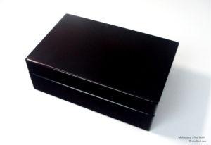 No.1669 10本用 ホンジュラスマホガニー時計ケース ¥165000