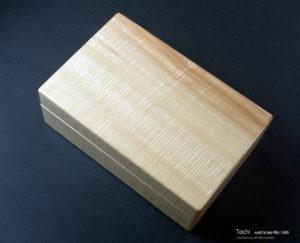 No.1686 10本用 トチ時計ケース ¥148000