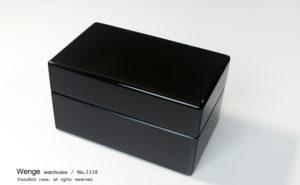 No.3338 3本用 ウエンジ時計ケース ¥49000