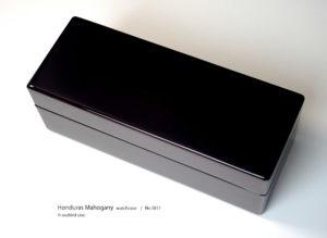 No.5811 5本用 ホンジュラスマホガニー時計ケース ¥113000
