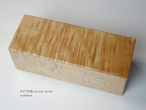 No.5814 5本用 ビックリーフメイプル時計ケース ¥98000