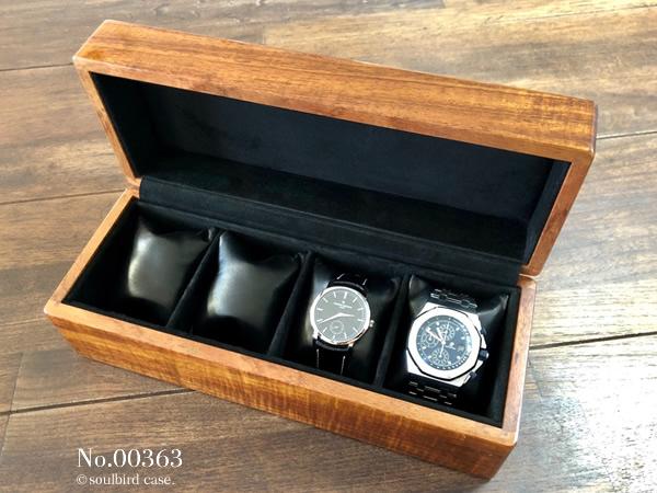 高級時計ケース コア材5本用 00363