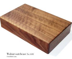 底面 ウォールナット材 高級時計ケース 10本用