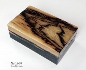 No.1699 黒柿材 10本用ケース