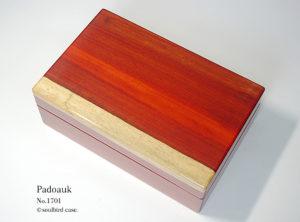No.1701 パドゥク材 10本用時計ケース