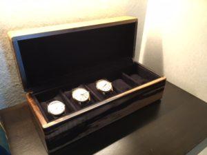 黒柿材5本用時計ケース