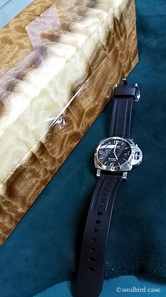 時計ケース モンキーポッド材5本用