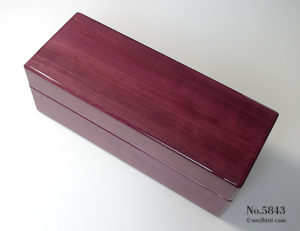 No.5843 パープルハート材 5本用 時計ケース