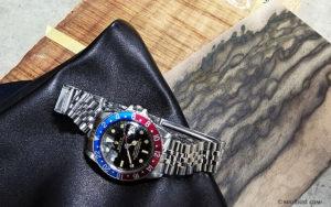 黒柿材、コア材、腕時計