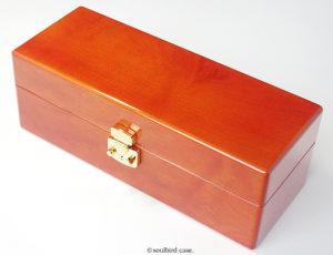 メイプル材top木 時計ケース 金色LOCK