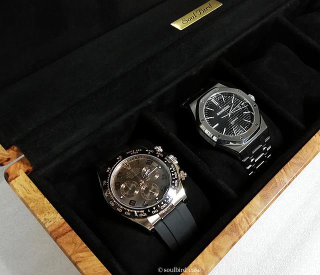 カリン材時計ケース
