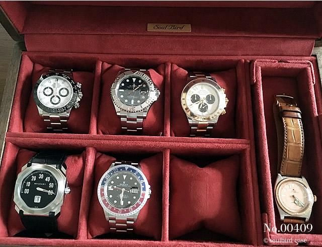 ウォールナット材時計ケース