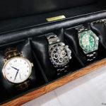 時計ケースとランゲゾーネ、デイトナなど