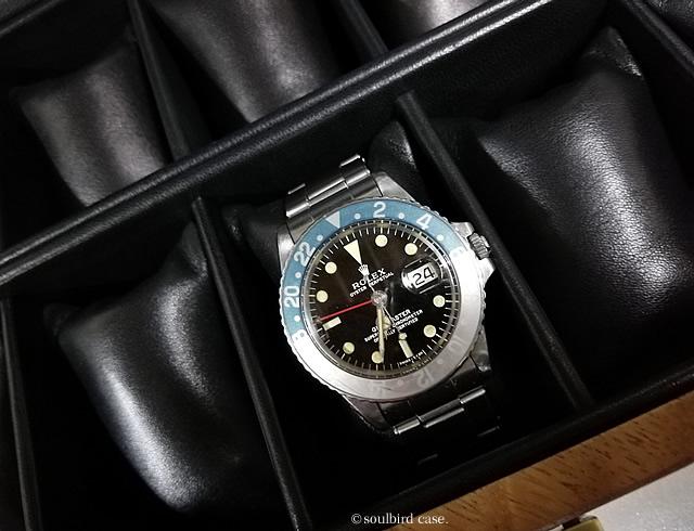 GMTと時計ケース