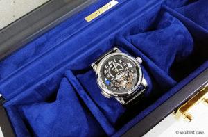 モンブランと時計ケース