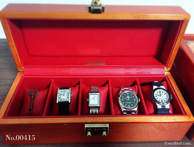 5本用時計ケース 00415