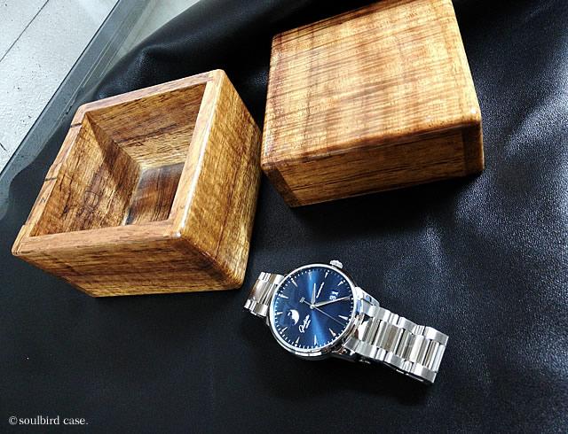 コアカーリー1本用時計ケース