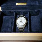 ヒノキ材3本用時計ケース