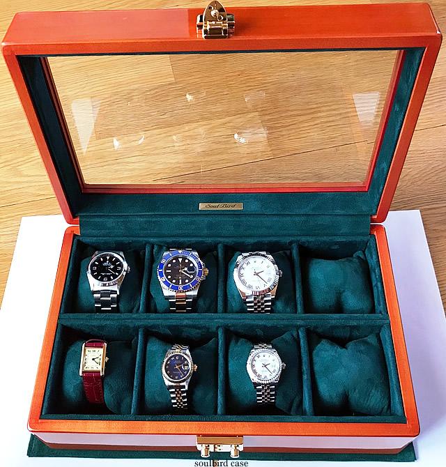 メイプル時計ケース 8本仕様