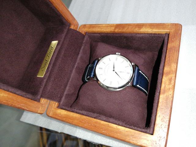紫檀 時計ケース