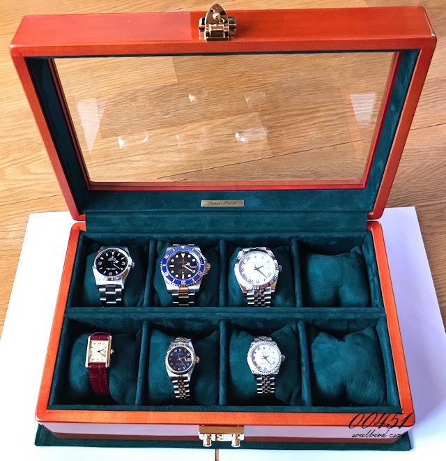 メイプル材時計ケース 8本仕様