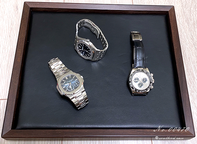 アマゾンローズの時計用トレー