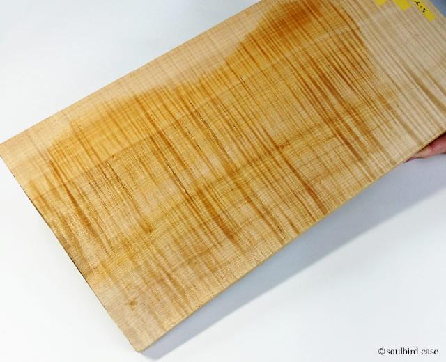 カーリーメイプル材 天板材