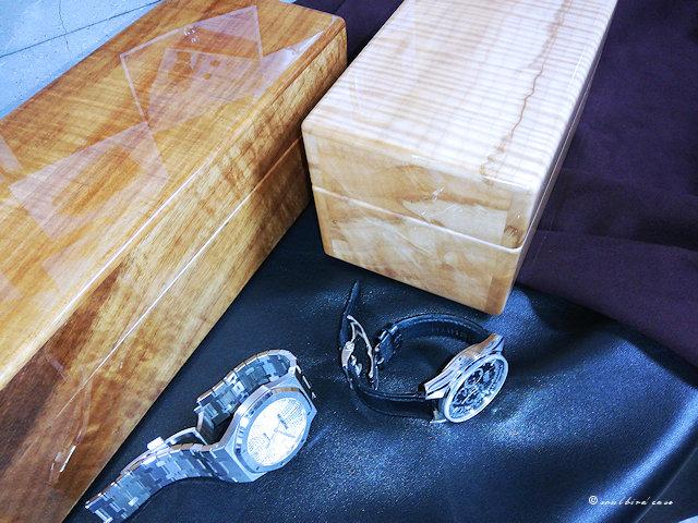 コア材5本用時計ケースとカーリー3本用時計ケース
