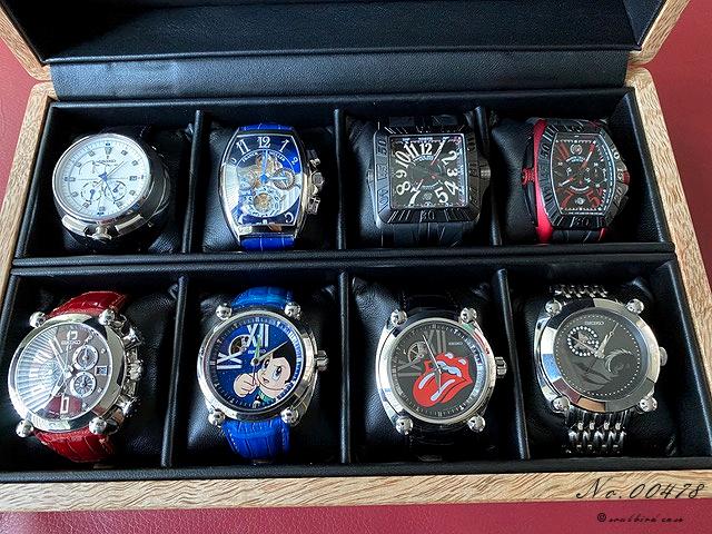 8本用時計ケース