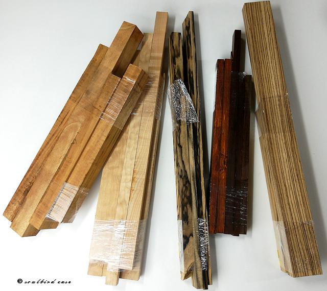 時計トレー用木材