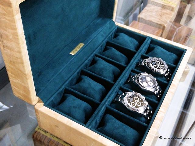 トチ時計ケース