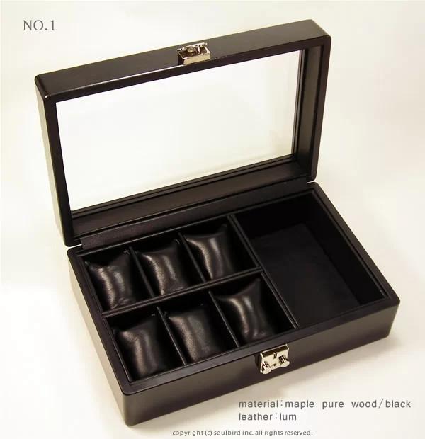 ソウルバードの時計ケースの内装加工No.1