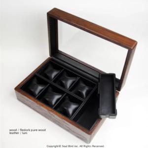 ソウルバードの時計ケースの内装加工No.15