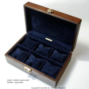 ソウルバードの時計ケースの内装加工No.17